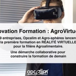 Agrovirtuose – 1ère formation en réalité virtuelle